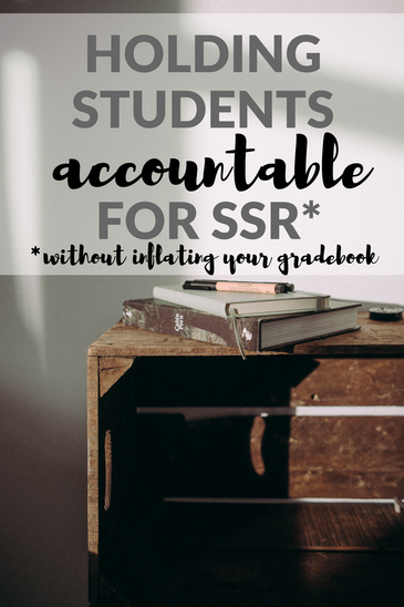 Holding Students Accountable for SSR (without inflating your